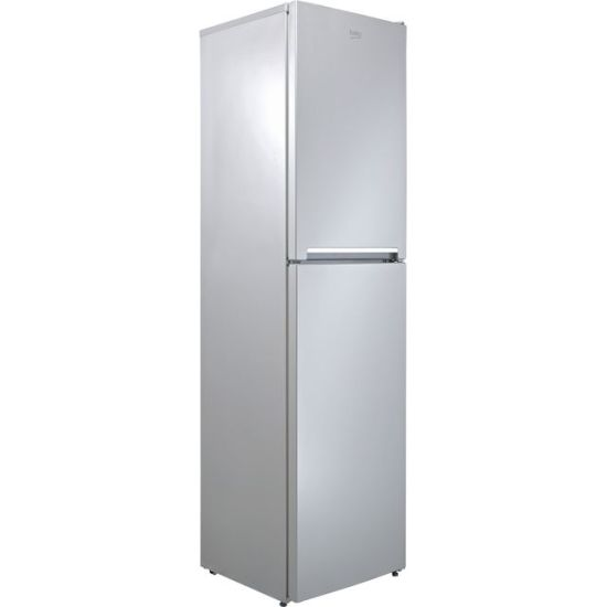 Beko CFG1501S 60/40 Frost Free Fridge Freezer - Silver - A+ Rated