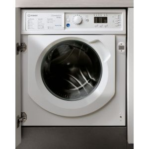 Indesit BIWDIL861284UK Integrated 8Kg / 6Kg Washer Dryer with 1200 rpm - White - A Rated