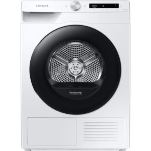 Samsung DV5000T DV90T5240AW Wifi Connected 9Kg Heat Pump Tumble Dryer - White - A+++ Rated
