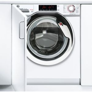 Hoover H-WASH&DRY 300 PRO HBDOS695TAMCE Wifi Connected Integrated 9Kg / 5Kg Washer Dryer with 1600 rpm - White - A Rated