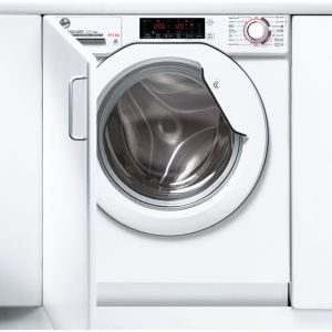 Hoover H-WASH&DRY 300 PRO HBDOS695TME Wifi Connected Integrated 9Kg / 5Kg Washer Dryer with 1600 rpm - White - A Rated