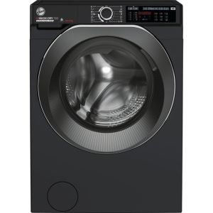 Hoover H-WASH 500 HD4106AMBCB/1 Wifi Connected 10Kg / 6Kg Washer Dryer with 1400 rpm - Black - A Rated