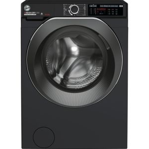 Hoover H-WASH 500 HD496AMBCB/1 Wifi Connected 9Kg / 6Kg Washer Dryer with 1400 rpm - Black - A Rated