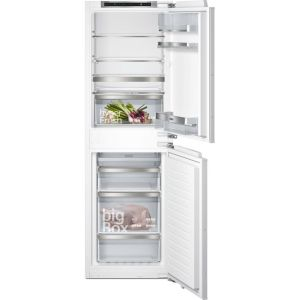 Siemens IQ-500 KI85NADE0G Integrated 50/50 Frost Free Fridge Freezer with Fixed Door Fixing Kit - White - A++ Rated
