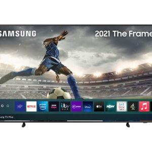 "65"" SAMSUNG The Frame QE65LS03AAUXXU  Smart 4K Ultra HD HDR QLED TV with Bixby, Alexa & Google Assistant"