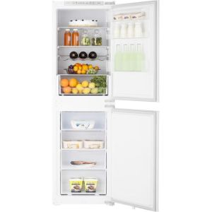 Hisense RIB291F4AWF Integrated 50/50 Frost Free Fridge Freezer with Sliding Door Fixing Kit - White - A+ Rated
