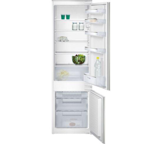 SIEMENS iQ100 KI38VX22GB Integrated 70/30 Fridge Freezer - Sliding Hinge, White