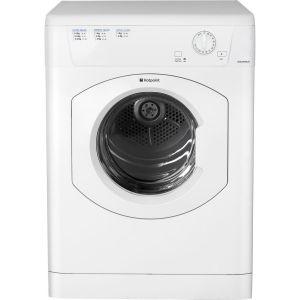 HOTPOINT Aquarius TVHM80CP Vented Tumble Dryer - White, White