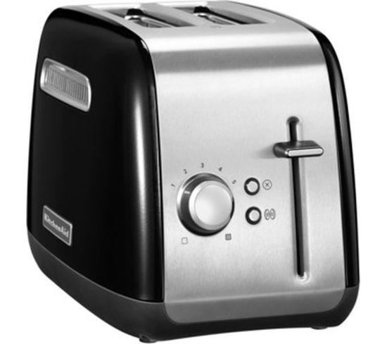 KITCHENAID 5KMT2115BOB 2-Slice Toaster - Black, Black
