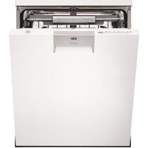 AEG ComfortLift FFE63806PW Full-size Dishwasher - White, White
