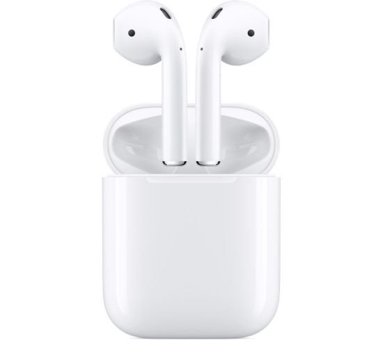 APPLE AirPods with Charging Case (2nd generation) - White, White