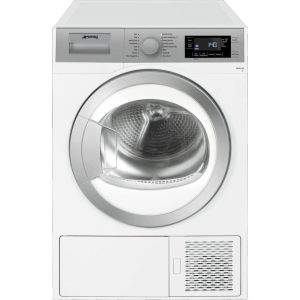 SMEG DHT81LUK 8 kg Heat Pump Tumble Dryer - White, White