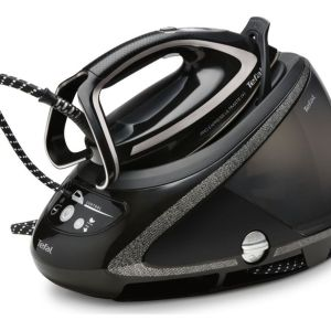 TEFAL Pro Express Ultimate  GV9610 High Pressure Steam Generator Iron - Black, Black