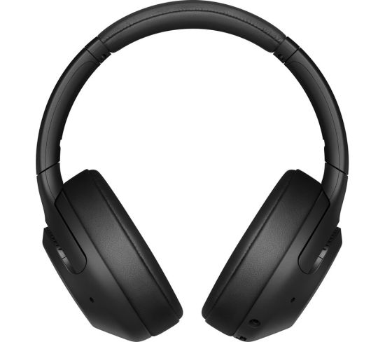 SONY EXTRA BASS WH-XB900N Wireless Bluetooth Noise-Cancelling Headphones - Black, Black
