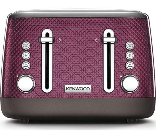 KENWOOD Mesmerine TFM810PU 4-Slice Toaster - Rich Plum, Plum