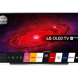 "55"" LG OLED55CX5LB  Smart 4K Ultra HD HDR OLED TV with Google Assistant & Amazon Alexa"