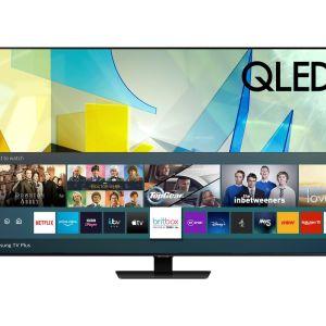 """75"""" SAMSUNG QE75Q85TATXXU  Smart 4K Ultra HD HDR QLED TV with Bixby, Alexa & Google Assistant"""