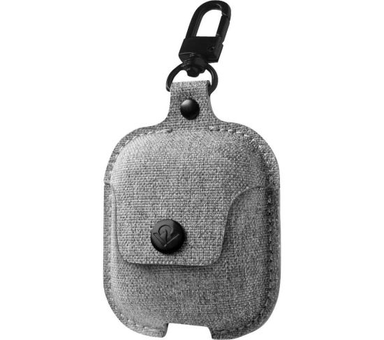 TWELVE SOUTH AirSnap AirPod Case Cover - Grey, Grey