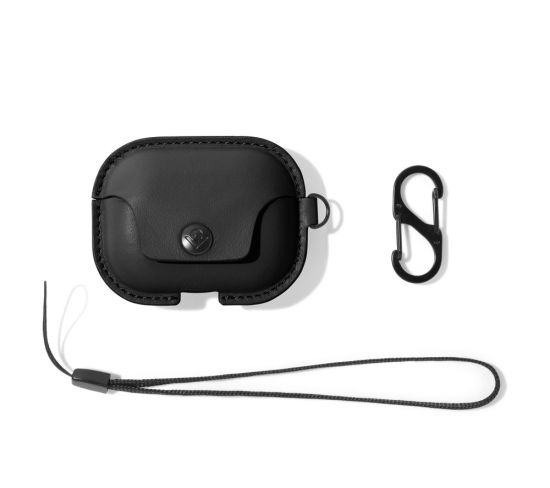 TWELVE SOUTH AirSnap AirPod Pro Case Cover - Black, Black