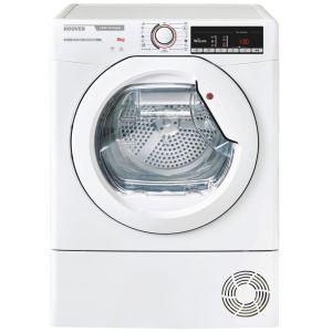 HOOVER Link X Care HLX H8A2TE NFC 8 kg Heat Pump Tumble Dryer - White, White