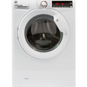 HOOVER H3W69TME NFC 9 kg 1600 Spin Washing Machine - White, White