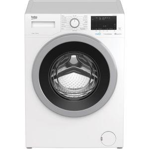 BEKO WEX840530W Bluetooth 8 kg 1400 Spin Washing Machine - White, White