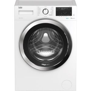 BEKO AquaTech WEX84064E0W Bluetooth 8 kg 1400 Spin Washing Machine – White, White