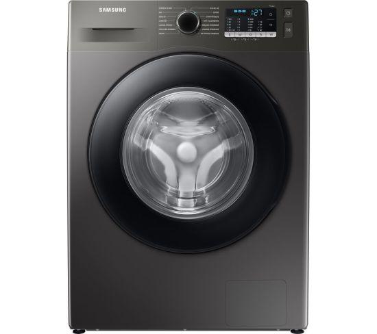 SAMSUNG ecobubble WW80TA046AX/EU 8 kg 1400 Spin Washing Machine - Graphite, Graphite