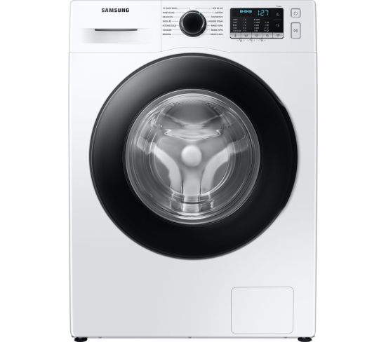 SAMSUNG ecobubble WW90TA046AE/EU 9 kg 1400 Spin Washing Machine - White, White
