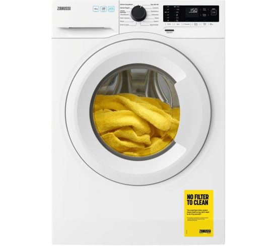 ZANUSSI ZWF144A2PW 10 kg 1400 Spin Washing Machine - White, White