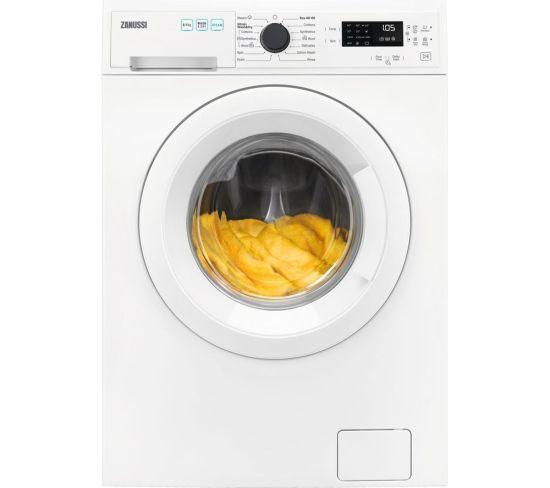ZANUSSI AutoAdjust ZWD86SB4PW 8 kg Washer Dryer - White, White