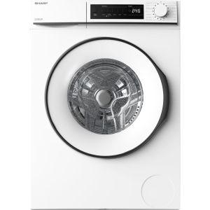 SHARP ES-NFB8141WD-EN 8 kg 1400 Spin Washing Machine - White, White