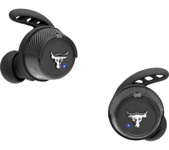 JBL Under Armour Project Rock X Wireless Bluetooth Sports Earbuds - Black, Black