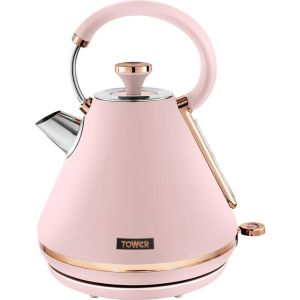 TOWER Cavaletto T10044PNK Traditional Kettle - Marshmallow Pink, Pink