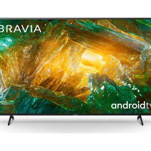 "65"" SONY BRAVIA KE65XH8096BU  Smart 4K Ultra HD HDR LED TV with Google Assistant, Blue"