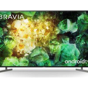 "65"" SONY BRAVIA KE65XH8196BU  Smart 4K Ultra HD HDR LED TV with Google Assistant, Green"