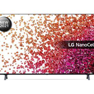 "55"" LG 55NANO756PA  Smart 4K Ultra HD HDR LED TV with Google Assistant & Amazon Alexa - Ashed Blue, Blue"