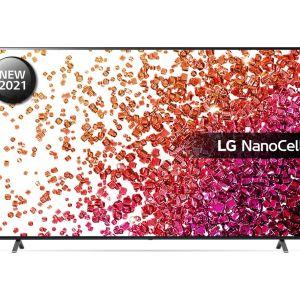"75"" LG 75NANO756PA  Smart 4K Ultra HD HDR LED TV with Google Assistant & Amazon Alexa"
