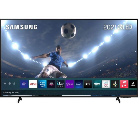 "75"" SAMSUNG QE75Q60AAUXXU  Smart 4K Ultra HD HDR QLED TV with Bixby, Alexa & Google Assistant"