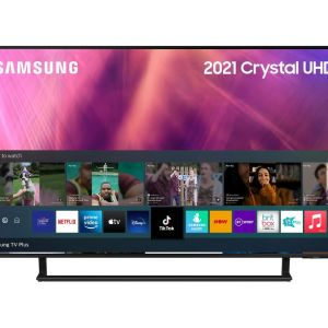 SAMSUNG UE43AU9000KXXU  Smart 4K Ultra HD HDR LED TV with Bixby, Alexa & Google Assistant
