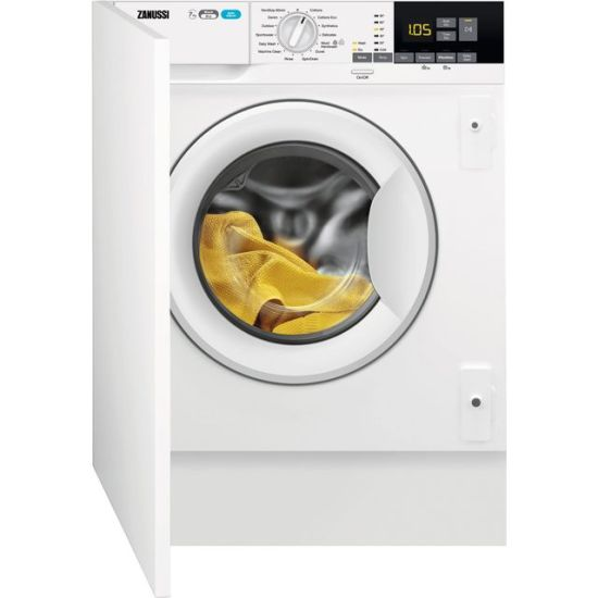 Zanussi Z716WT83BI Integrated 7Kg / 4Kg Washer Dryer with 1550 rpm - White - A Rated