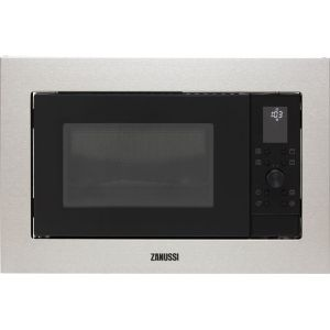 Zanussi ZMSN7DX Built In Microwave With Grill - Stainless Steel