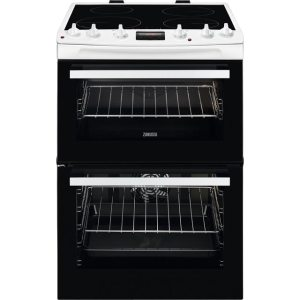 Zanussi ZCI66250WA 60cm Electric Cooker with Induction Hob - White - A/A Rated