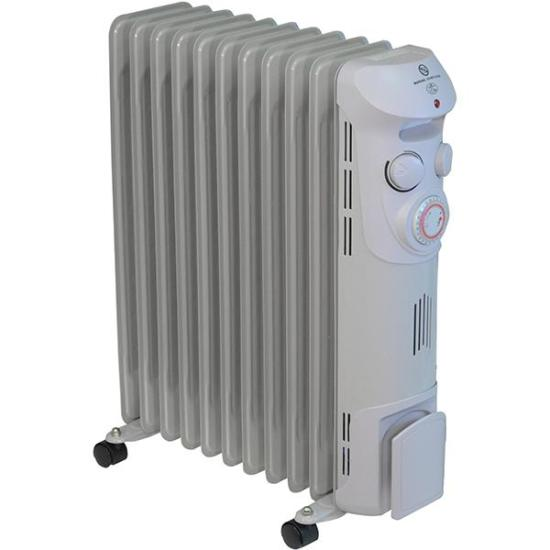 """Prem-I-Air Elite 2.5 kW Oil Filled Radiator with Timer - EH1369 PREM-I-AIR Heating Prem-I-Air Elite 2.5 kW Oil Filled Radiator with Timer - EH1369 Shop The Very Best Air Con Deals Online at <a href=""""http://Appliance-Deals.com"""">Appliance-Deals.com</a>"""