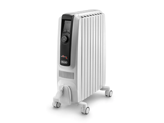 """Delonghi Dragon 2.5kW Oil Filled Radiator White - TRDX41025E Delonghi Heating Delonghi Dragon 2.5kW Oil Filled Radiator White - TRDX41025E Shop The Very Best Air Con Deals Online at <a href=""""http://Appliance-Deals.com"""">Appliance-Deals.com</a>"""