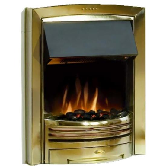 """Dimplex Adagio Inset Fire (Brass Effect Finish) - ADG20BR Dimplex Electric Fires Dimplex Adagio Inset Fire (Brass Effect Finish) - ADG20BR Shop The Very Best Air Con Deals Online at <a href=""""http://Appliance-Deals.com"""">Appliance-Deals.com</a>"""