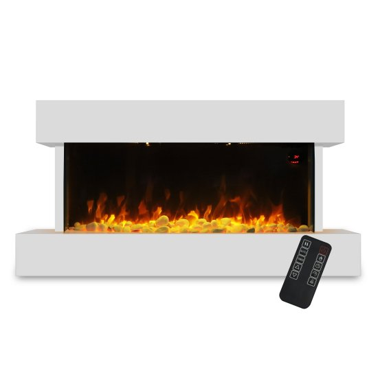 """Devola 2kW Electric Fireplace Suite White 558x1170mm - DVWFS2000WH (Return Unit) - (Used) Grade A Devola Heating Devola 2kW Electric Fireplace Suite White 558x1170mm - DVWFS2000WH (Return Unit) - (Used) Grade A Shop The Very Best Air Con Deals Online at <a href=""""http://Appliance-Deals.com"""">Appliance-Deals.com</a>"""