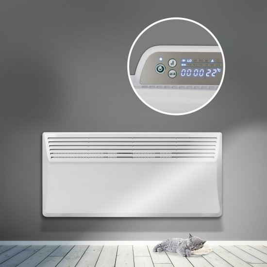 """Devola Eco Contour 2kw Panel Heater With 24hr/7 Day Timer - DVS2000W (Return Unit) - (Used) Grade A Devola Heating Devola Eco Contour 2kw Panel Heater With 24hr/7 Day Timer - DVS2000W (Return Unit) - (Used) Grade A Shop The Very Best Air Con Deals Online at <a href=""""http://Appliance-Deals.com"""">Appliance-Deals.com</a>"""
