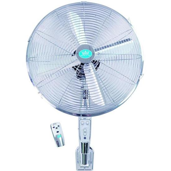 """Premiair 16 Chrome Wall Fan with Remote Control And Timer - EH1574 PREM-I-AIR Fans Premiair 16 Chrome Wall Fan with Remote Control And Timer - EH1574 Shop The Very Best Air Con Deals Online at <a href=""""http://Appliance-Deals.com"""">Appliance-Deals.com</a>"""