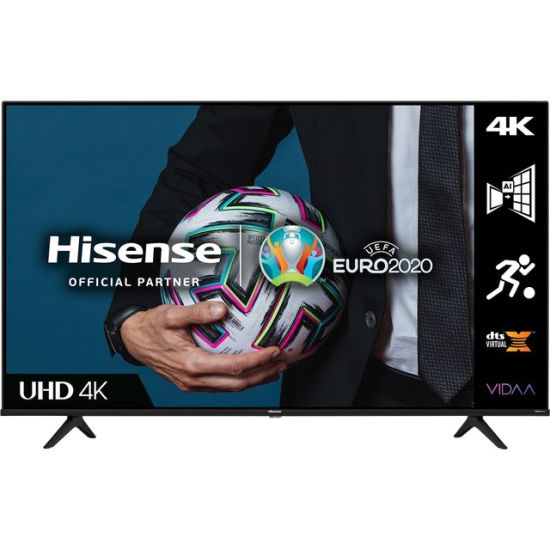 """Hisense 43A6GTUK 43"""" Smart 4K Ultra HD TV AO Hisense TV Hisense 43A6GTUK 43"""" Smart 4K Ultra HD TV Shop The Very Best TV Deals Online with Fast Delivery and Amazing Offers at <a href=""""http://Appliance-Deals.com"""">Appliance-Deals.com</a> <a href=""""https://www.awin1.com/cread.php?awinmid=1599&awinaffid=792795&ued=https%3A%2F%2Fcurrys.co.uk""""><img class="""" wp-image-9780000159235 aligncenter"""" src=""""https://appliance-deals.com/wp-content/uploads/2021/03/curryspcworld_500x500_thumb.png"""" alt=""""Appliance Deals"""" width=""""112"""" height=""""112"""" /></a> <a href=""""https://www.awin1.com/cread.php?awinmid=19526&awinaffid=792795&ued=https%3A%2F%2Fao.com""""><img class="""" wp-image-9780000159235 aligncenter"""" src=""""https://appliance-deals.com/wp-content/uploads/2021/02/ao-new.jpg"""" alt=""""Appliance Deals"""" width=""""112"""" height=""""112"""" /></a>"""